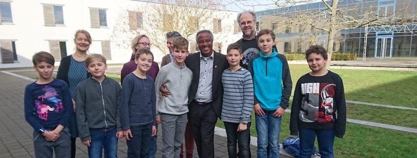 Partnerschule Burundi –Besuch