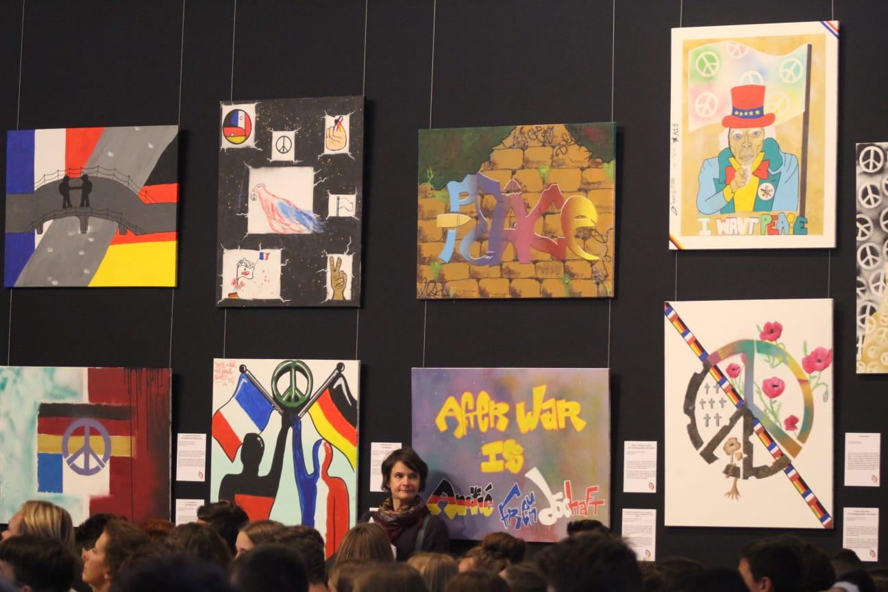 Kunstprojekt Deutsch-Französische Freundschaft
